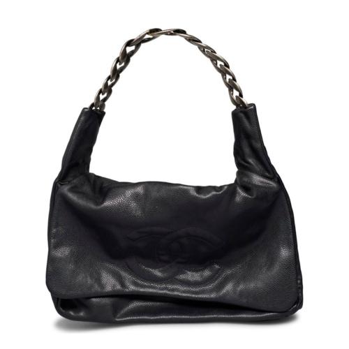 Chanel Coco Mark Caviar Shoulder Bag