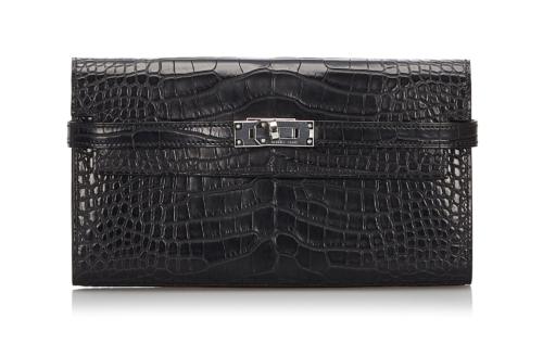Hermes Alligator Kelly Wallet