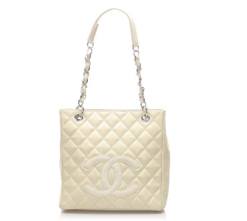 Chanel Caviar Petit Shopping Tote
