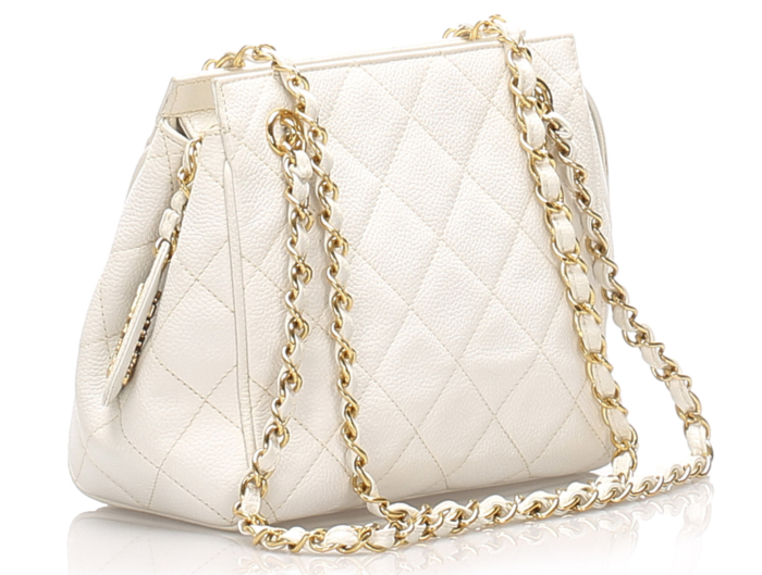 Chanel Caviar Leather Shoulder Bag