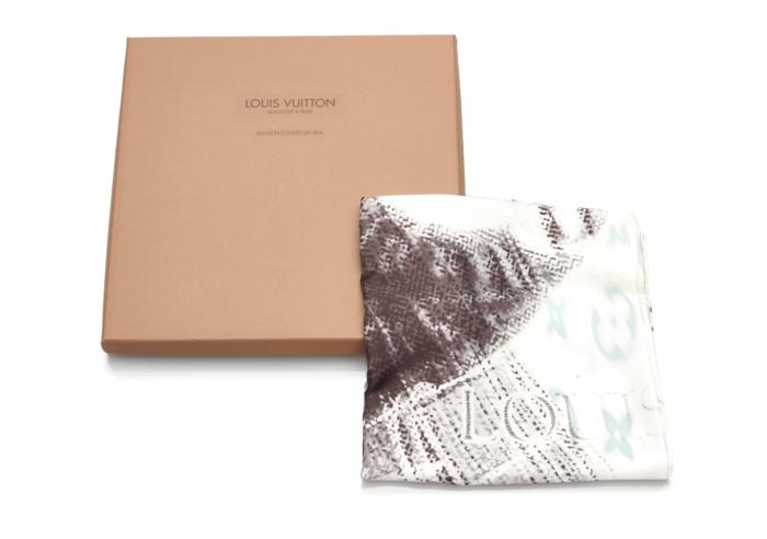 Louis Vuitton Monogram Silk Scarf