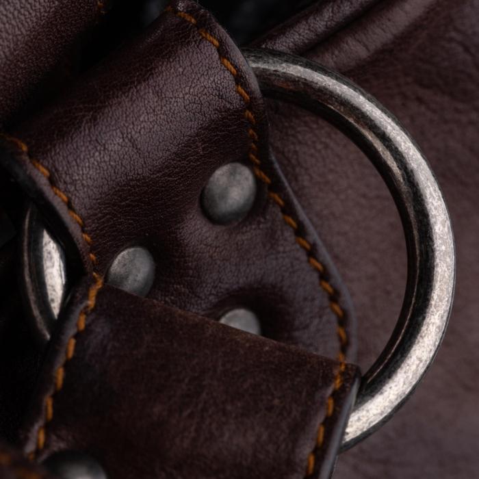 Dior Gaucho Saddle Leather Handbag