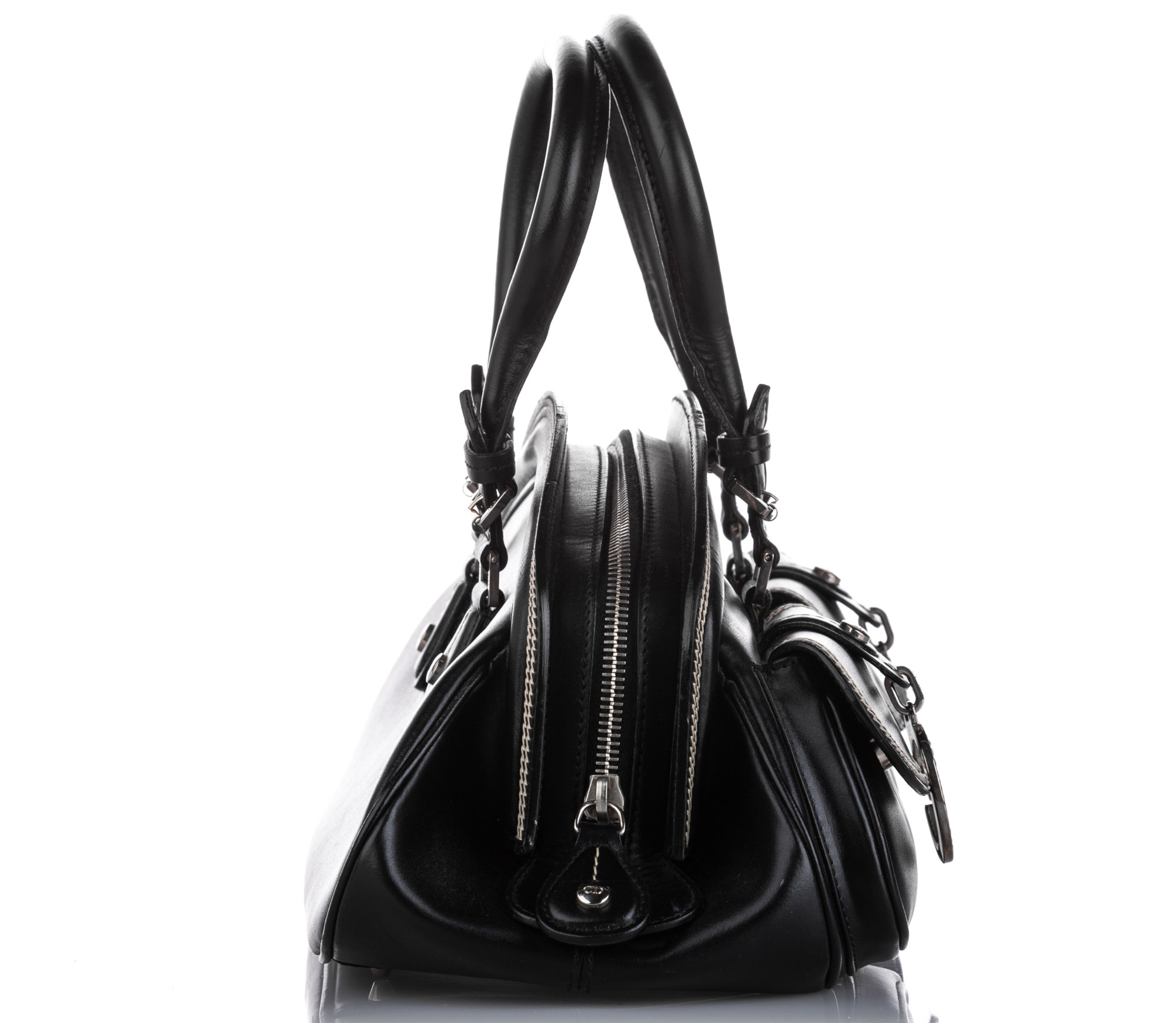 Dior Medium Detective Leather Handbag