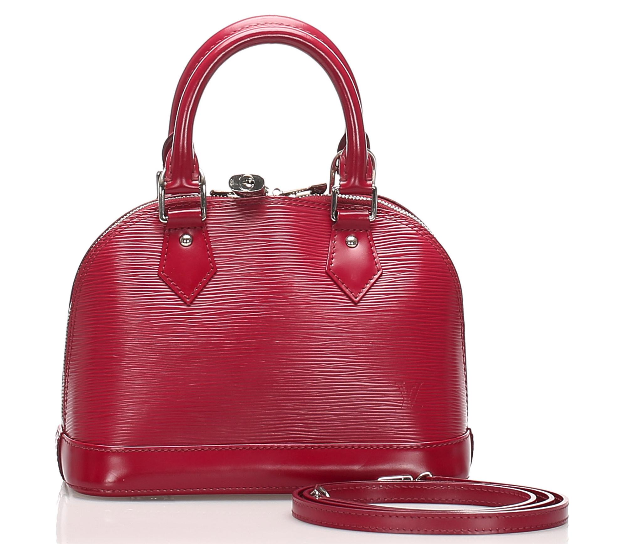 Louis Vuitton Epi Alma BB
