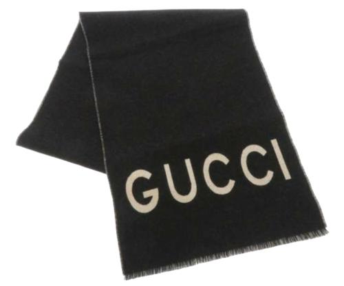 Gucci Logo Wollen Sjaal