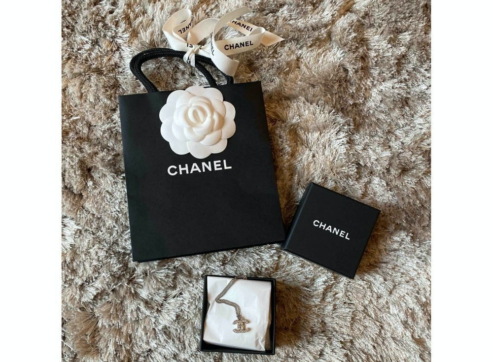 Chanel CC Logo Ketting