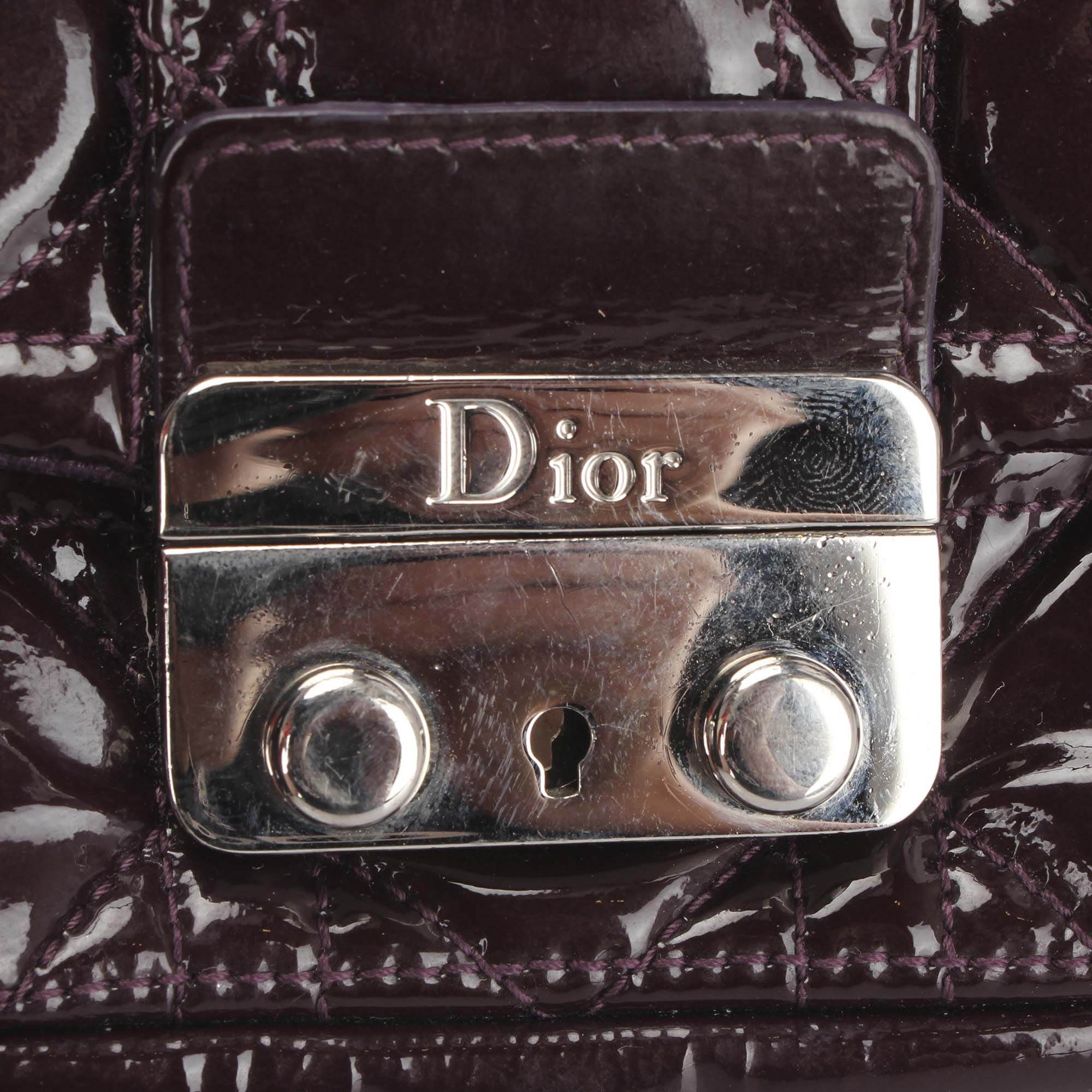 Dior Cannage Miss Dior Promenade Chain Crossbody Bag