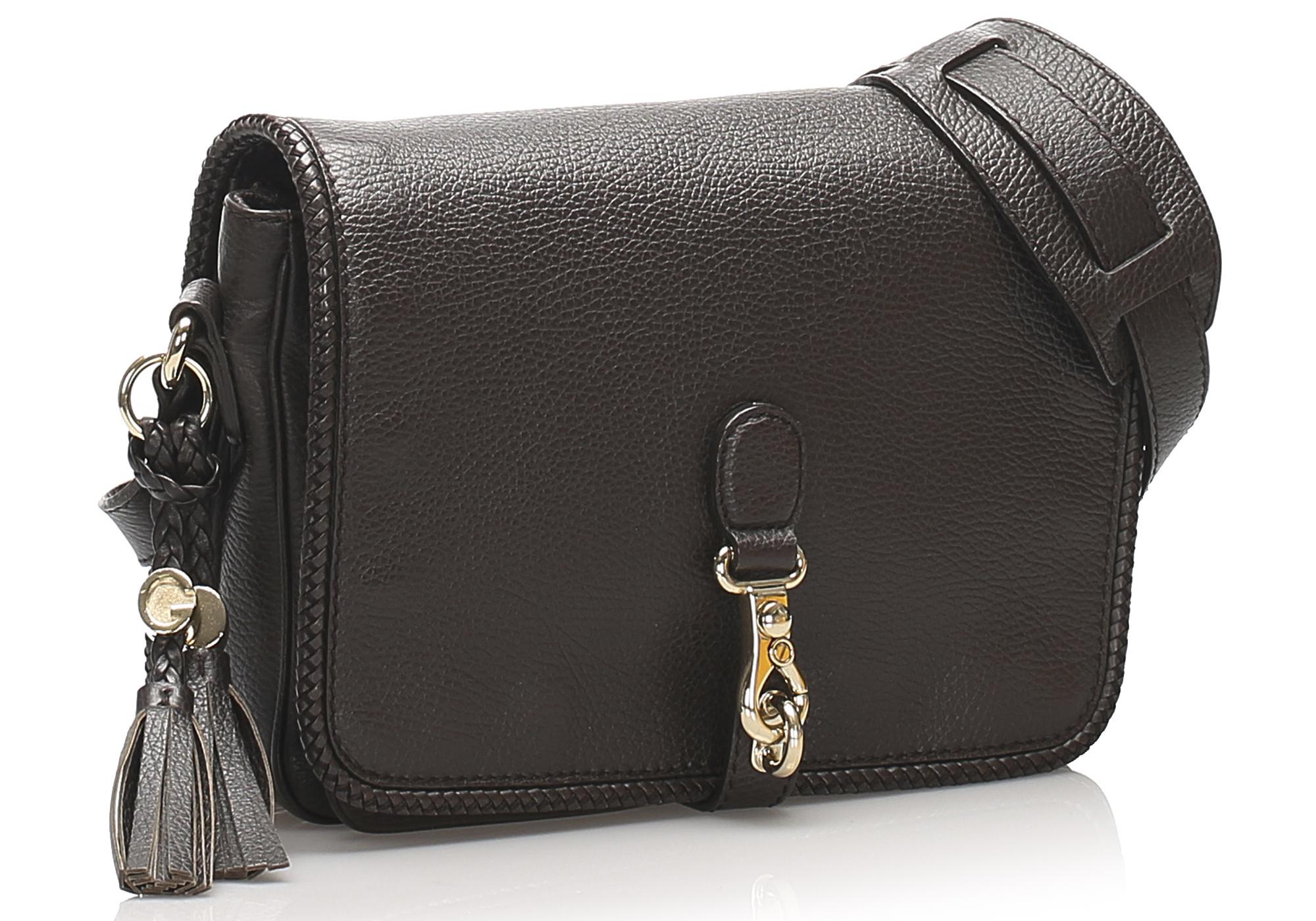 Gucci Marrakech Leather Crossbody Bag