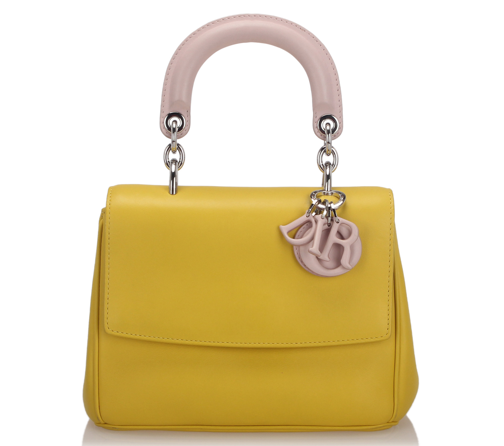 Dior Mini Be Dior Leather Flap Bag