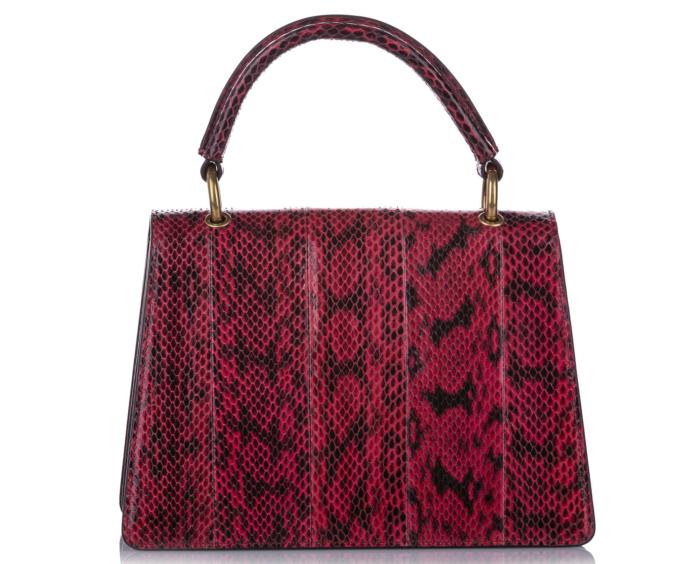 Gucci Queen Margaret Python Bag