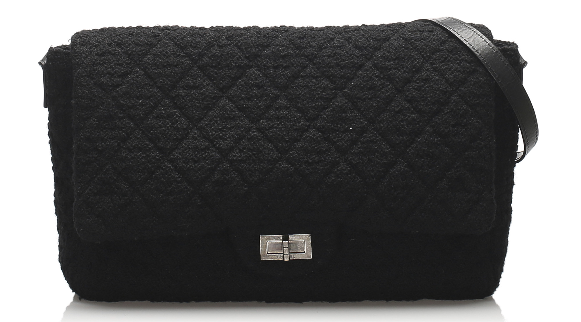 Chanel Matelasse Reissue Wool Flap Shoulder Bag