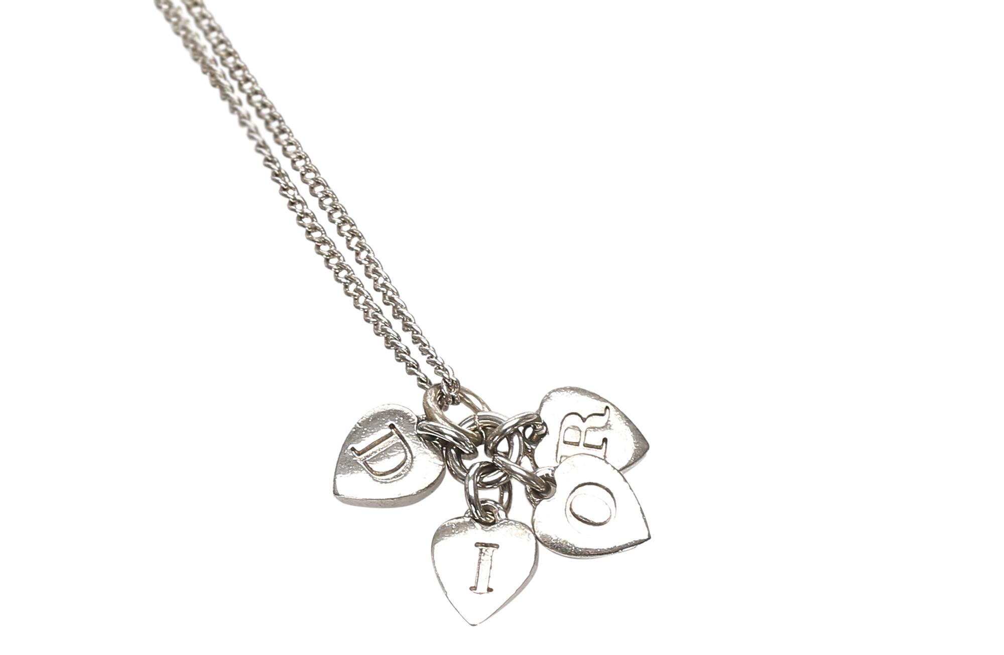 Heart Logo Pendant Necklace