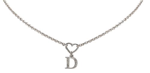 Dior Ketting Heart D Drop Pendant