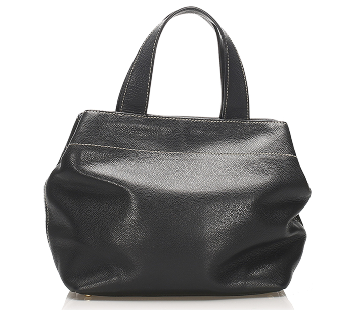 Chanel CC Leather Satchel