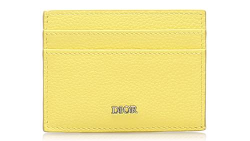 Dior Leather Card Holder