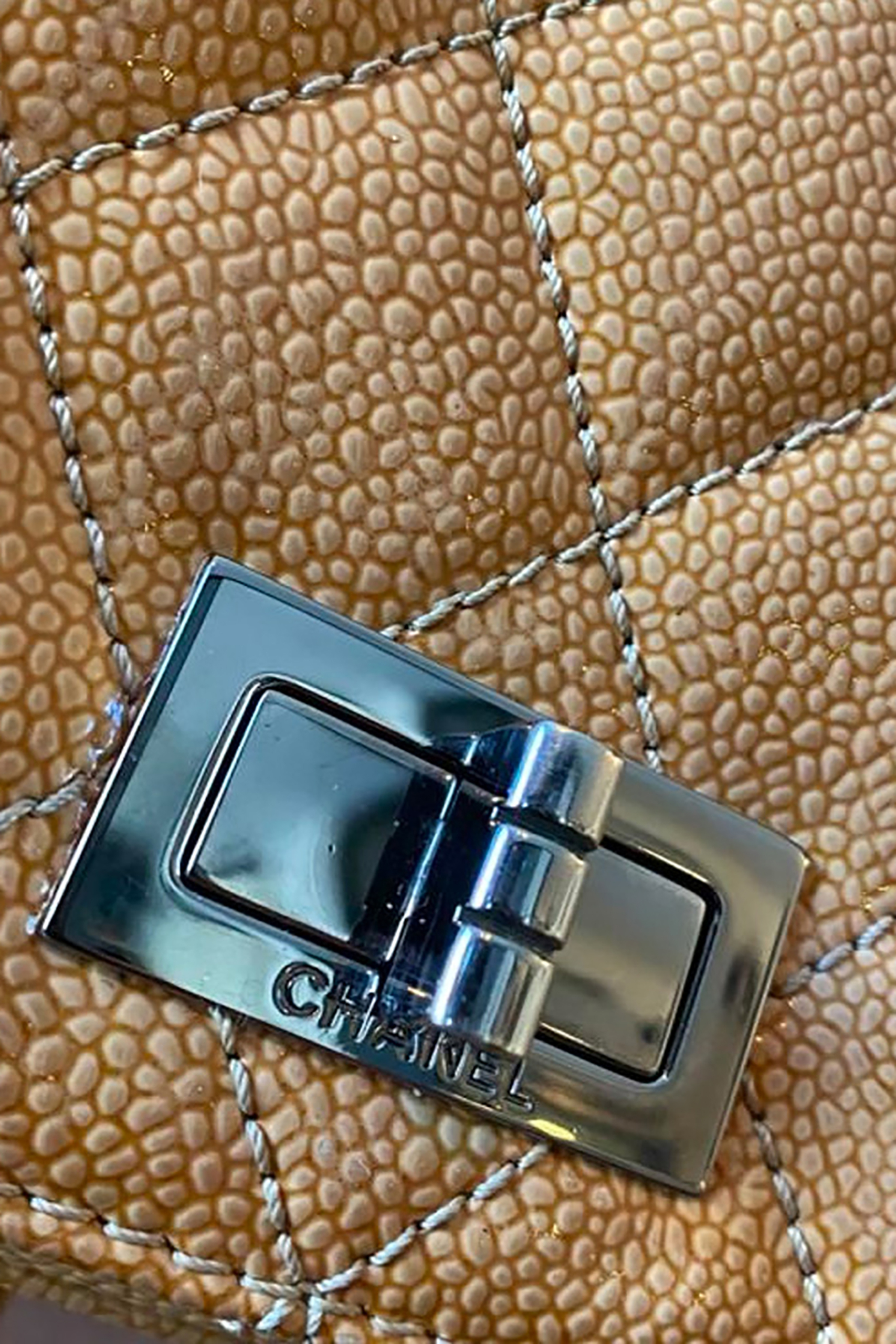 Chanel Caviar Leather Flap Bag