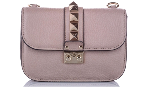 Valentino Small Rockstud Glam Lock Crossbody Bag