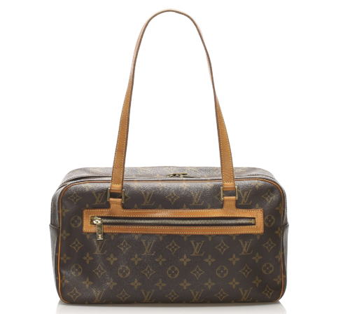 Louis Vuitton Cite GM. Gemaakt van bruin monogram canvas.
