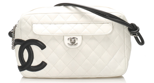 Chanel Cambon Ligne Lambskin Leather Shoulder Bag