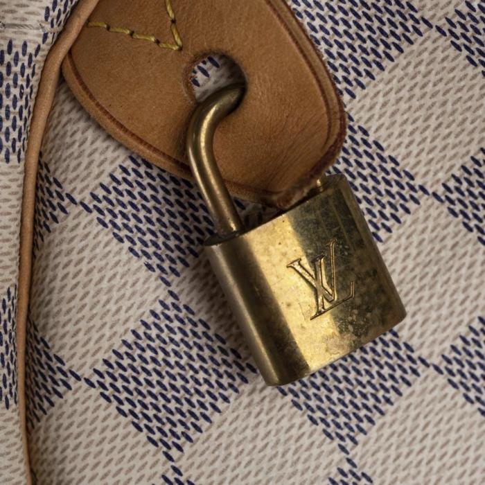 Louis Vuitton Damier Azur Speedy 35