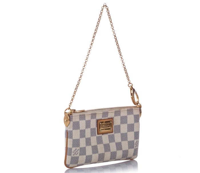 Louis Vuitton Damier Azur Pochette Milla MM