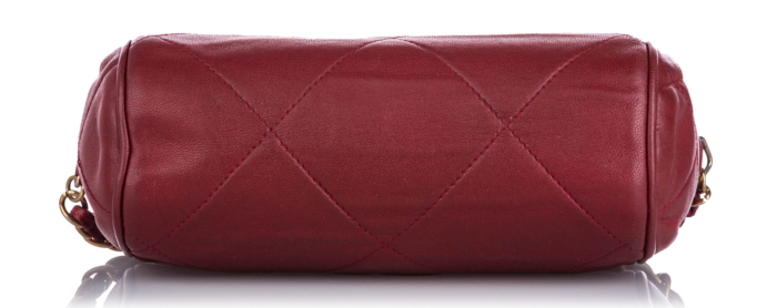 Chanel CC Lambskin Leather Crossbody Bag