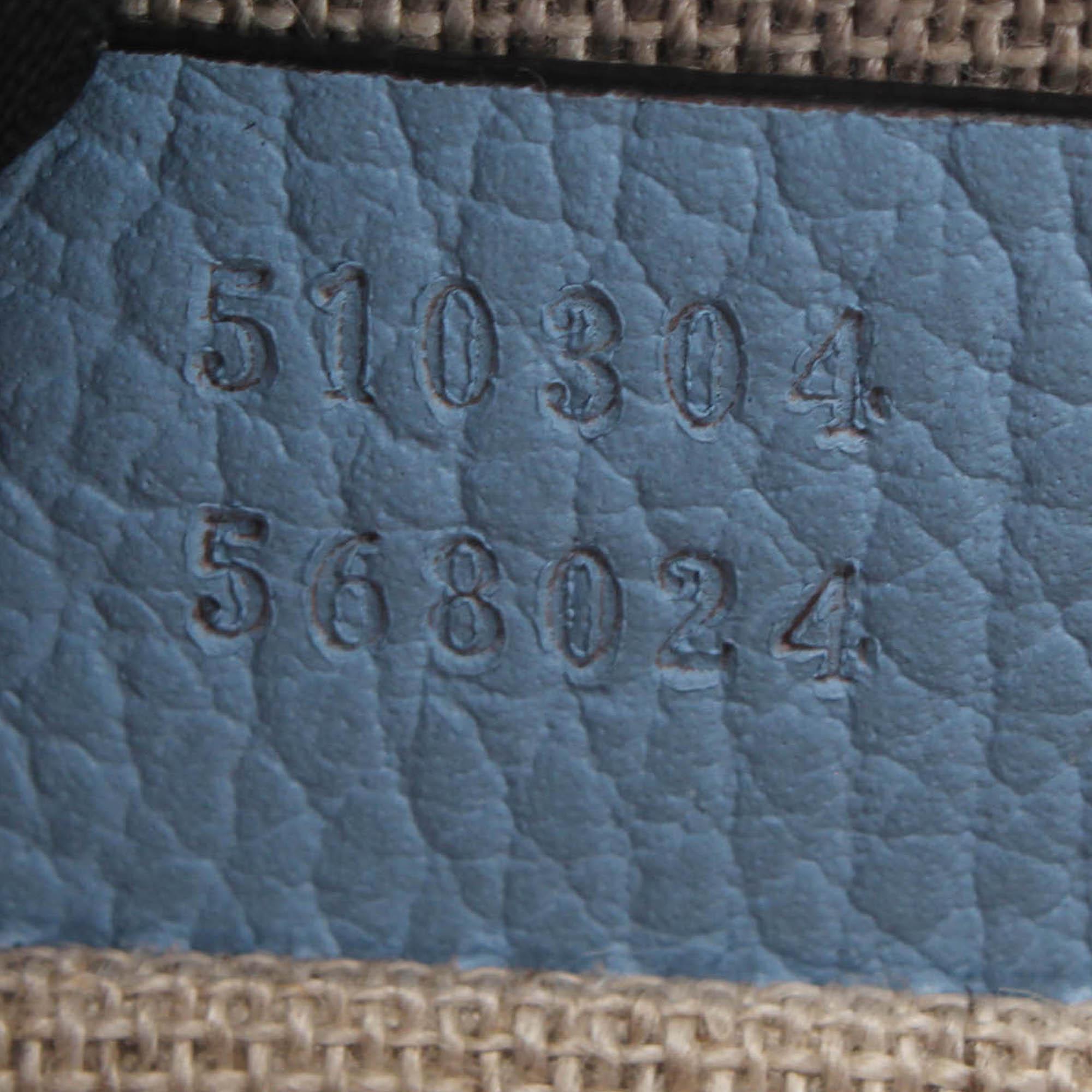 Gucci Interlocking G Leather Crossbody Bag
