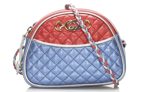 Gucci Trapuntata Leather Crossbody Bag