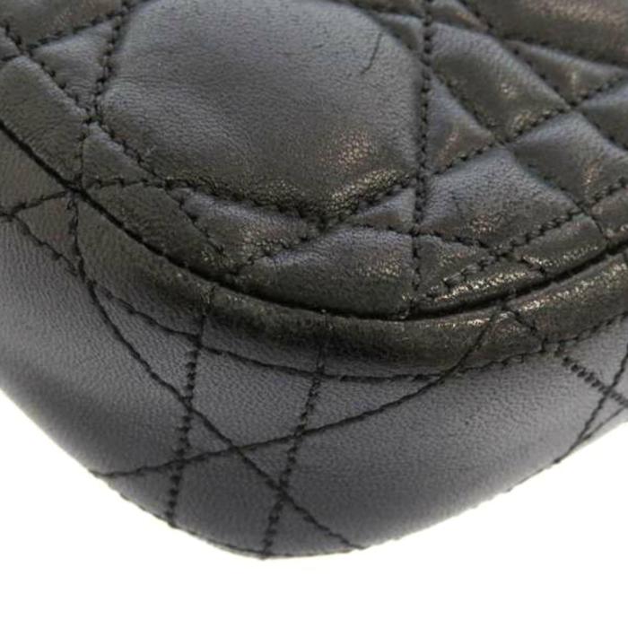 Dior Cannage Miss Dior Promenade Chain Leather Crossbody Ba