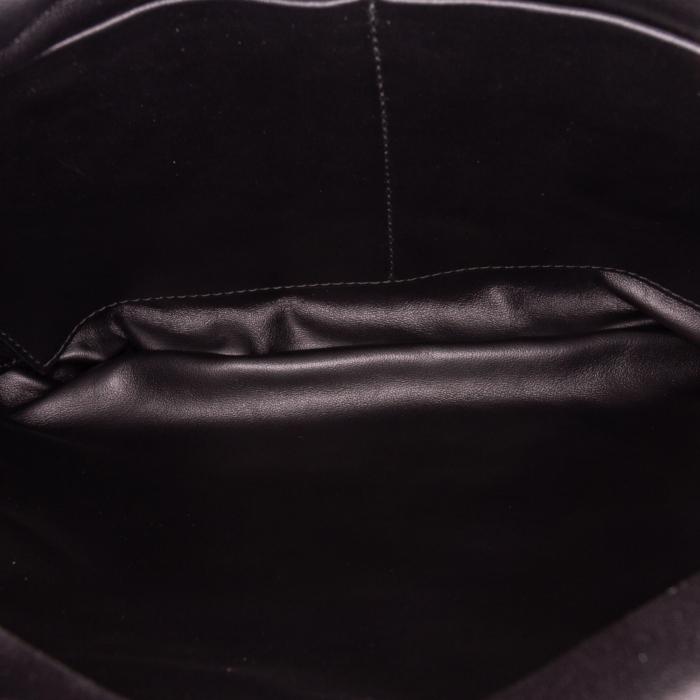 Bottega Veneta The Fringe Pouch Leather Shoulder Bag