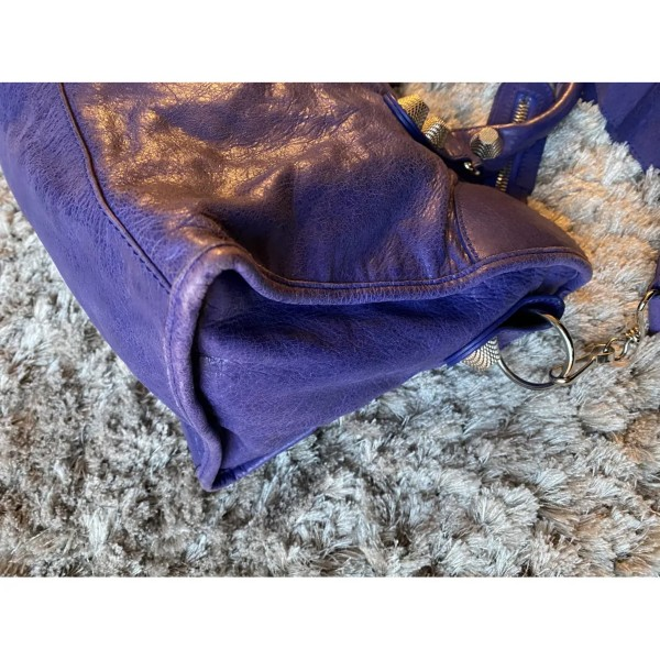 Balanciaga City Bag Purple