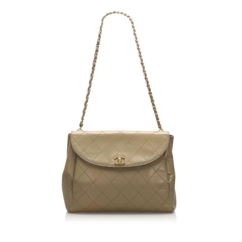 Chanel Wild Stitch Leather Shoulder Bag