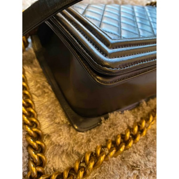 Chanel Lambskin Boy Bag