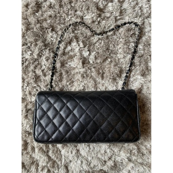 Chanel East West Caviar Shoulder Bag