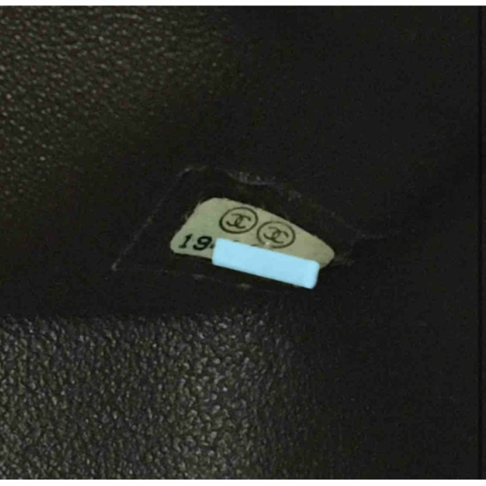 Chanel Classic Caviar Jumbo Double Flap Bag Black